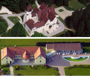 Festetich Castle and Zsuzsanna Hotel