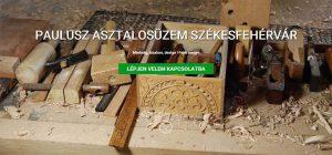 Paulusz Asztalosműhely - Székesfehérvár - iCC - WebSite CarbonOffset